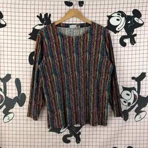 Vintage Multi-color Long Sleeve Shirt